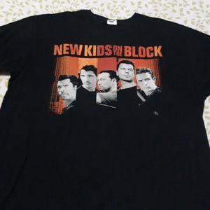 New Kids Tour 2008 Shirt